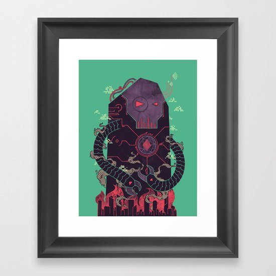 Operate, Annihilate Framed Art Print