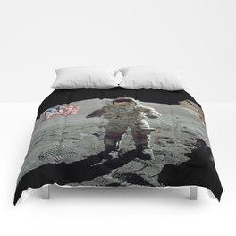 Apollo 17 - Last Man On The Moon Comforters