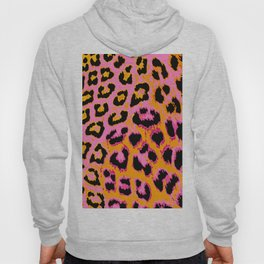Gold and Pink Leopard Spots Hoody