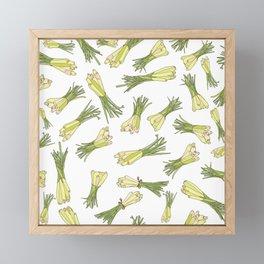 Lemongrass Framed Mini Art Print