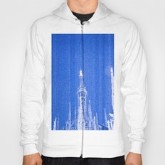Night of Blue over Milan Hoody