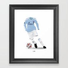 New York City FC 2015 Framed Art Print