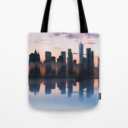 Downtown Reflections Tote Bag