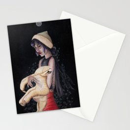 In the Moonlight Stationery Cards
