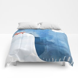 Fox In Nowhere Land Comforters
