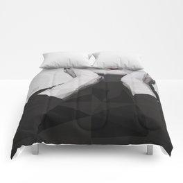 Geometric Callas Comforters
