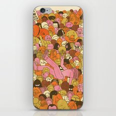Crowd Surfer iPhone & iPod Skin