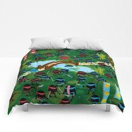 Ninja War Comforters