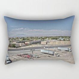 Truck Stop HDR Rectangular Pillow