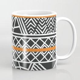 Tribal ethnic geometric pattern 022 Coffee Mug