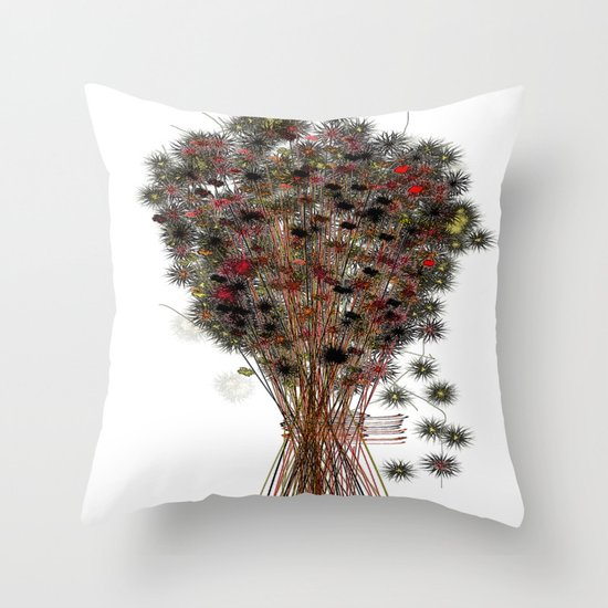 touch of forest Throw Pillow