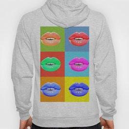 Colorful lips Hoody
