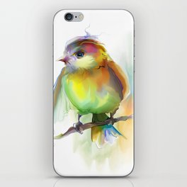 singing birdie iPhone Skin