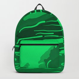 abstract style aurora borealis absmagi Backpack