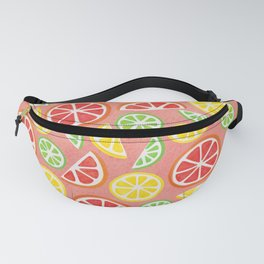 Vitamin C Super Boost - Citric Fruits on Peach Fanny Pack