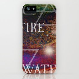 Fire Meets Water iPhone Case
