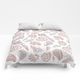 Sea Shells Comforters
