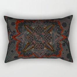 Divine Intention 5: Solar Red Rectangular Pillow