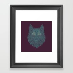 Wolf of Winter Framed Art Print