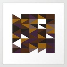 #508 Aztec revival – Geometry Daily Art Print