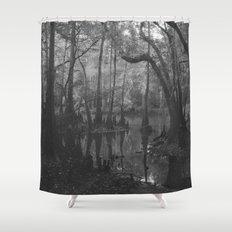 Florida Swamp Shower Curtain