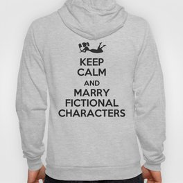 Marry Fictional Characters Hoody