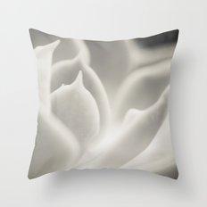 white glow Throw Pillow