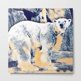 Polar Metal Print