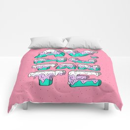 Crema Mutante Comforters