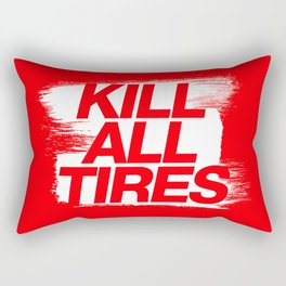 Kill All Tires v1 HQvector Rectangular Pillow