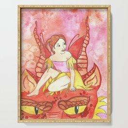 Dragon Tamer Fairy Serving Tray