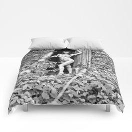 Nude Art Photogrphy by Mary Bassett Comforters