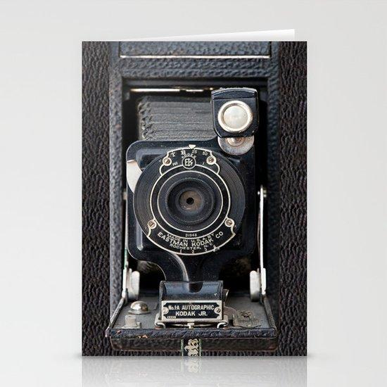 Vintage Autographic Kodak Jr. Camera Stationery Cards