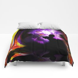 Abstract pefection -Lily Comforters