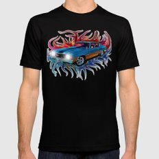 72 Chevy Chevelle X-LARGE Mens Fitted Tee Black