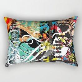 Exquisite Corpse: Round 4 Rectangular Pillow