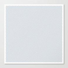U13: grey droplet Canvas Print