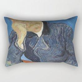 Vincent Van Gogh  - Dr Paul Gachet Rectangular Pillow