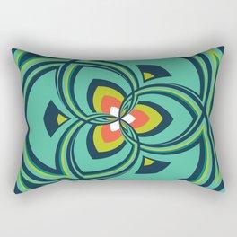 Spiral Rose Pattern A 4/4 Rectangular Pillow