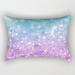 Summer Mermaid Girls Glitter #2 #shiny #decor #art #society6 Rectangular Pillow