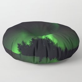 The Northern Lights 04 Floor Pillow