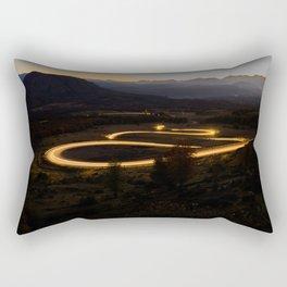 route Rectangular Pillow