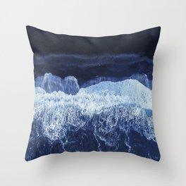 Sea 7 Throw Pillow