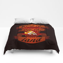 King of all the land Comforters