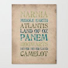Fantasy Realms Canvas Print