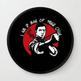 Ip Man  v2 Wall Clock