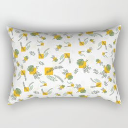 Wall Garden Rectangular Pillow