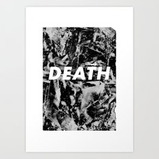 M33 - DEATH Art Print