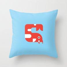 Japan Koi Throw Pillow
