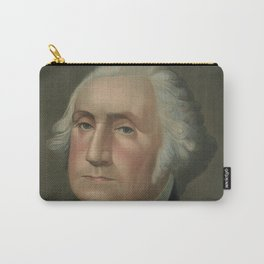 Vintage Portrait of George Washingon (1896) Carry-All Pouch